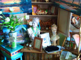 Busts and figurines and more for sale at Down by the Sea