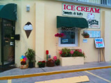 The Waffle Cone in Flagler Beach