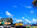 Rocket Launch seen from Flagler Beach