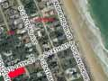 aerial view of the lot at 1401 South Daytona Avenue in Flagler Beach, Florida